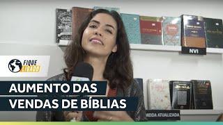 Aumento das Vendas de Bíblias | Fique Ligado | Tainá Felix | IPP TV