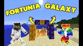 Ballı kaymaklı Oğuz 😥 Minecraft Lucky Block  - FORTUNİA VS GALAXY