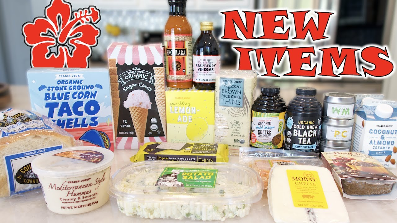 NEW TRADER JOE'S PRODUCTS YOU DON'T WANT TO MISS!!!