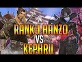 OVERWATCH WORLD RANK 1 HANZO WRAXU VS BEST WIDOWMAKER KEPHRII