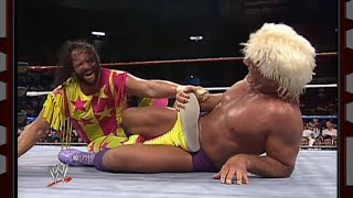 Randy Savage vs. Ric Flair - WWE Championship Match: Prime Time Wrestling: September 1, 1992