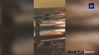 إصابات بانقلاب قارب في العقبة (6/1/2020)