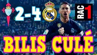 AUDIO RAC1   CELTA 2-4 REAL MADRID   COMPLETO