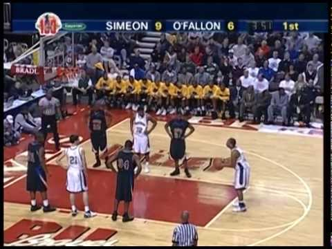 2007 IHSA Boys Basketball Class AA Championship Game: Chicago (Simeon) vs. O'Fallon (H.S.)