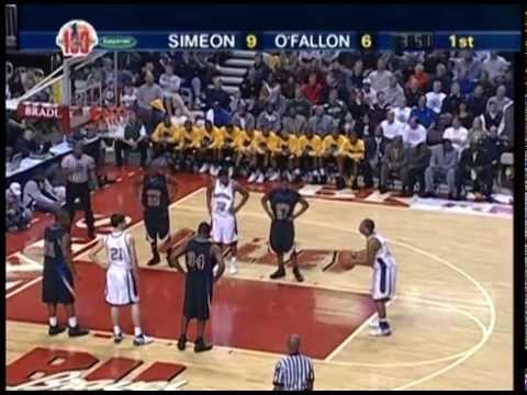 68a30147fdc3 2007 IHSA Boys Basketball Class AA Championship Game  Chicago (Simeon) vs.  O Fallon (H.S.)