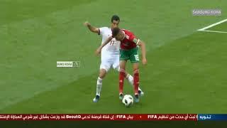 ملخص كامل مباراة المغرب وايران 1 0   كاس العالم WORD CUP RUSSIA 2018 Maroc vs Iran