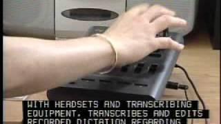 Medical Transcriptionist career video