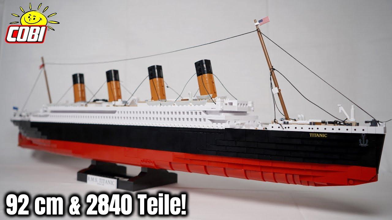 Würde ich nochmal COBI Sets kaufen?   größte 'R.M.S. Titanic' im Review!