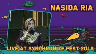 Nasida Ria LIVE @ Synchronize Fest 2018
