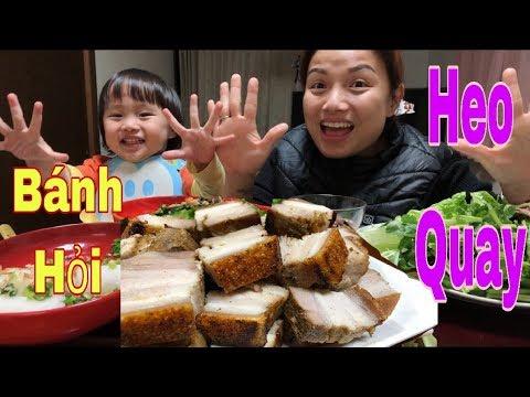 🇯🇵Ăn Bánh Hỏi Heo Quay – Trả Lời Câu Hỏi Anh Xã Bao Nhiêu Tuổi – Cuộc sống ở Nhật#101