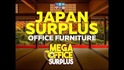 Japan Surplus Used Office Furniture by Megaoffice Surplus