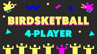 Birdsketball - Sports with Birds!! (4-Player Gameplay)