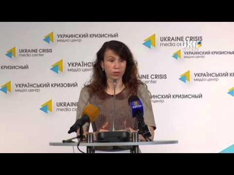 Tetyana Chornovol. Ukrainian Сrisis Media Center. April 23, 2014
