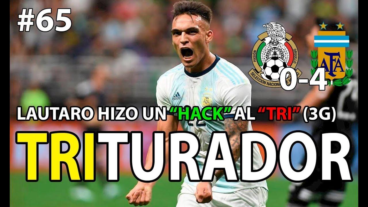 Download Argentina 4 México 0 / La albiceleste DESTROZA a una CONFUNDIDA selección mexicana / Tony el Orate
