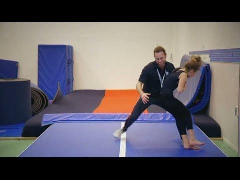 Peter Jihde vikarierar som gymnastiklärare