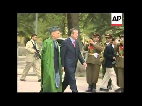 Karzai meets Erdogan
