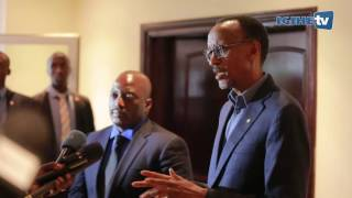 President Kagame receives President Kabila in his one day working visit in Rubavu | 12th August 2016