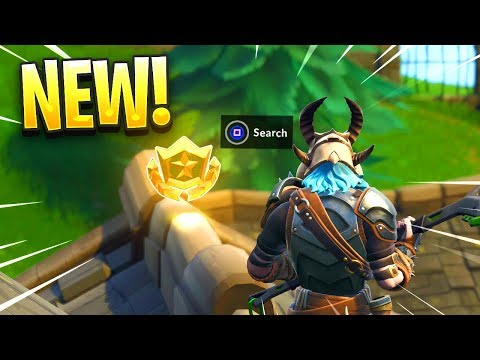 """""""Follow The Treasure Map Found in Snobby Shores"""" FORTNITE MAP LOCATION"""