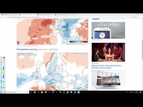 EC 30 Day Weather Forecast For UK & Europe: 26th November to  23rd December 2018