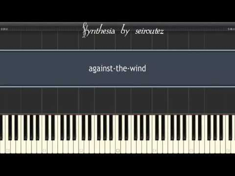 SynthesiaMIDI against the wind