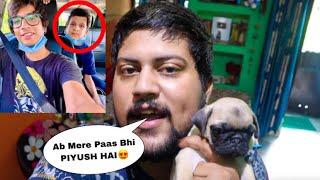 FINALLY APNE DOG KA NAAM HUMNE PIYUSH RAKHDIYA😱‼️ @Sourav Joshi Vlogs
