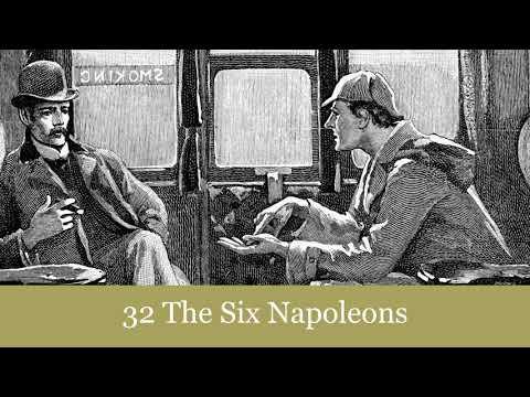 The Return of Sherlock Holmes: 32 The Six Napoleons Audiobook