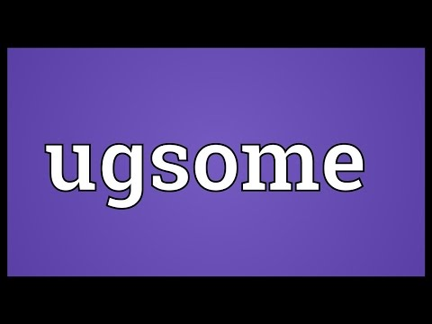 Header of ugsome