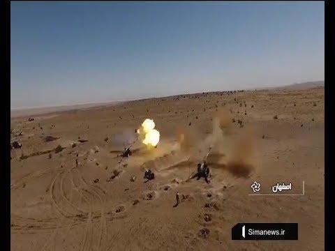 Iran Army Beit Al Muqaddas 29 Wargame, NasrAbad region رزمايش بيت المقدس بيست و نه ارتش ايران