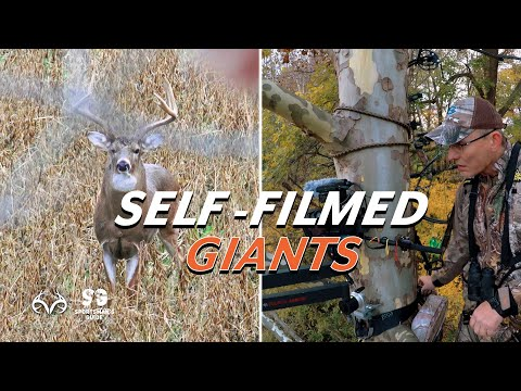 Self-Filmed Giant Whitetails | Archery Hunts | Monster Buck Moments Presented by Sportsman's Guide