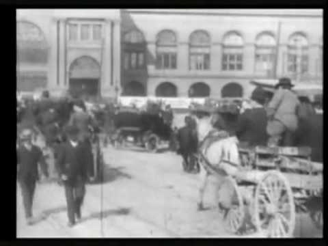 1906 Refugees at Ferry Building, San Francisco