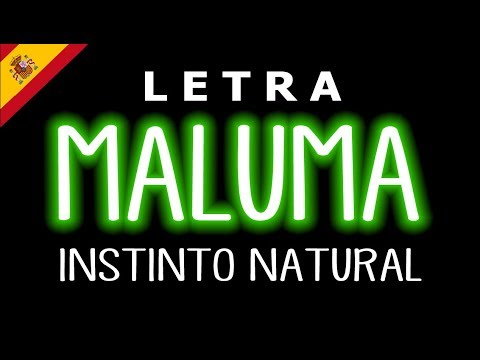 Maluma - Instinto Natural (Letra) ft.Sech