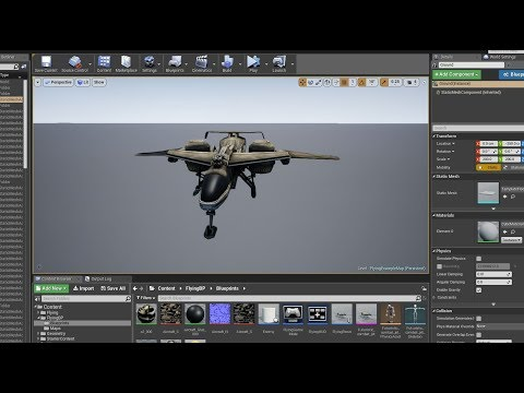Fighter Jet Tutorial - Unreal Engine 4