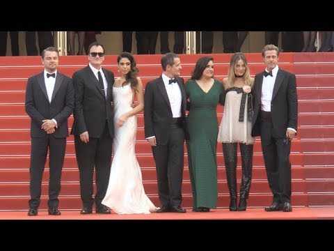 Brad Pitt, Leonardo DiCaprio and cast of Once Upon A Time In Hollywood - Angle 2