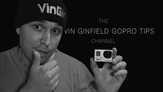 VinGin GoPro tips - Introduction (filmed in with the Galaxy Note 3) 4K