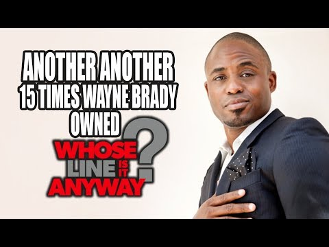 Another Another 15 Times Wayne Brady Owned Whose Line Is It, Anyway?