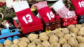 Brio Holzeisenbahn Adventskalender / Brio Wooden Railway System My Advent Calendar (hd)