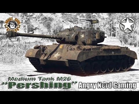 War Thunder: M26 Pershing, American, Tier-4, Medium Tank
