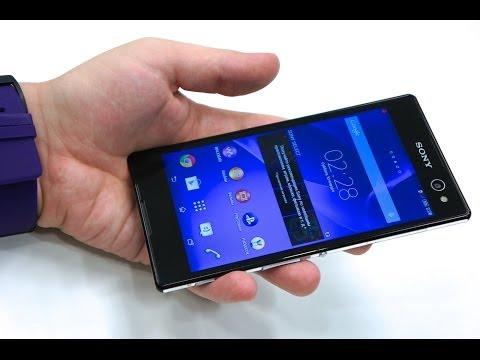 Sony Xperia C3: предварительный обзор селфи-фона (preview)