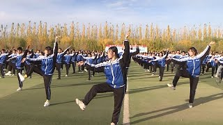 Morning exercises to Dunhuang Dance: What are the students dancing for?