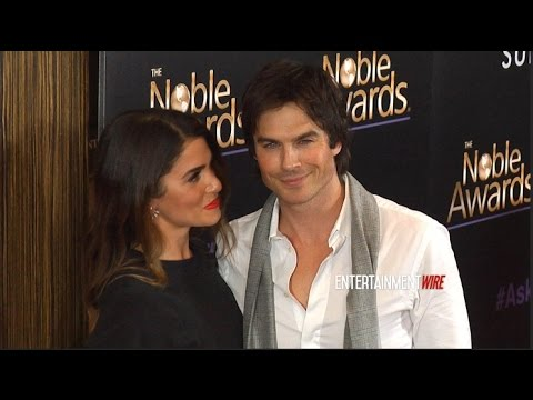 Ian Somerhalder and Nikki Reed True Love! at 3rd Annual Noble Awards Red carpet
