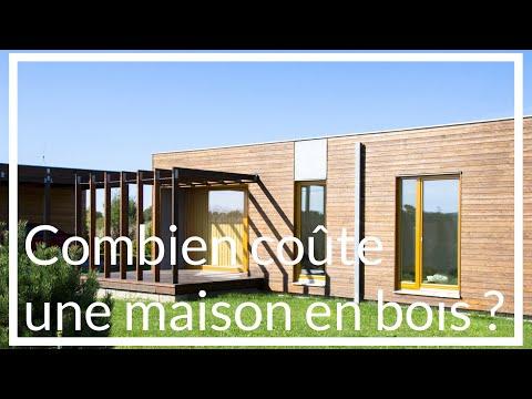 Maison ossature bois prix - Combien coûte une maison en bois clé