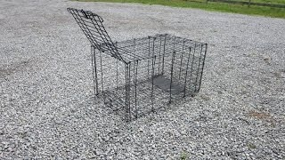 Diy Live Trap From Dog Kennel  - Version 1