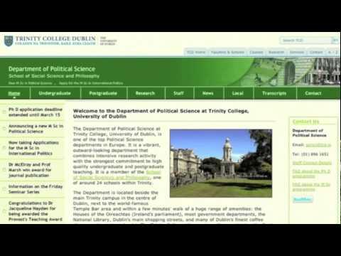Political Culture, Corruption and Irish Political Life