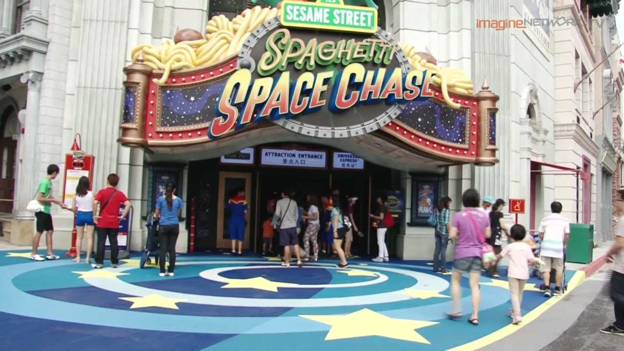 Sesame Street Spaghetti Space Chase launches in Universal ...Universal Studios Singapore Sesame Street Spaghetti Space Chase