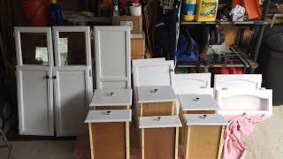 How To Paint Camper/Rv Cabinets, Part 1.
