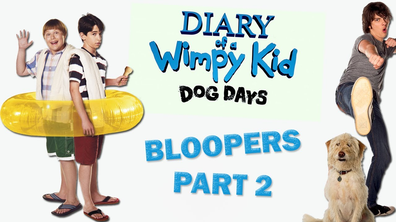 Diary Of A Wimpy Kid Dog Days Bloopers Youtube