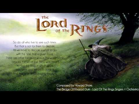 Gandalf's 'Death' Soundtrack - The Lord of the Rings