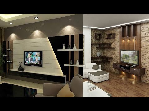 TV WALL NICHE DESIGN IDEAS
