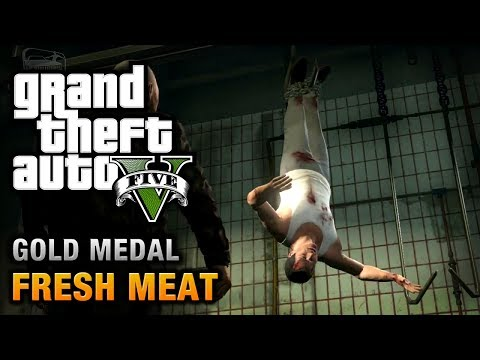 GTA 5 - Mission #59 - Fresh Meat [100% Gold Medal Walkthrough]