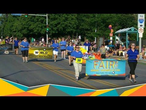 Iowa State Fair Parade 2018